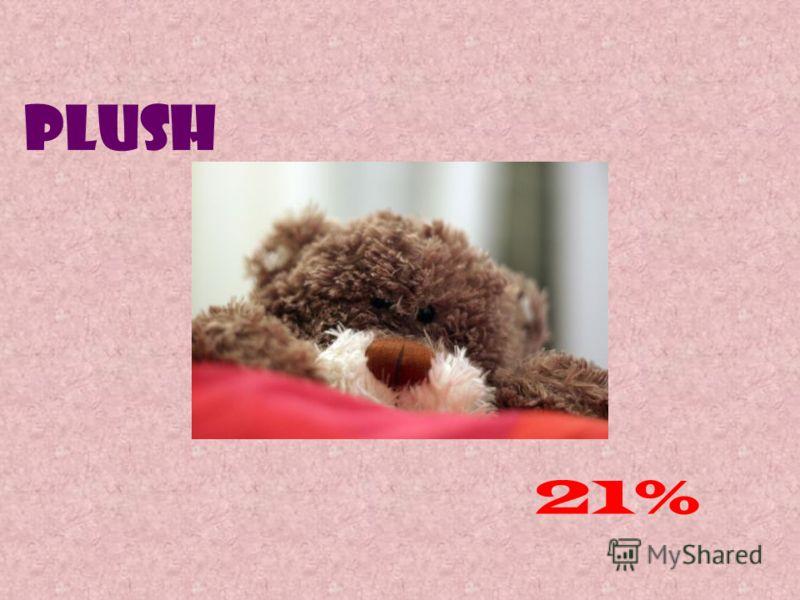 Plush 21%