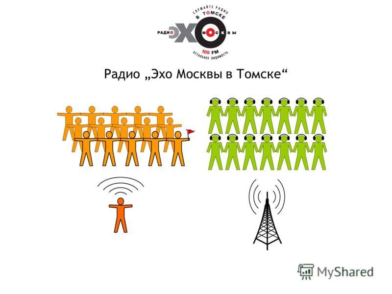 Радио Эхо Москвы в Томске