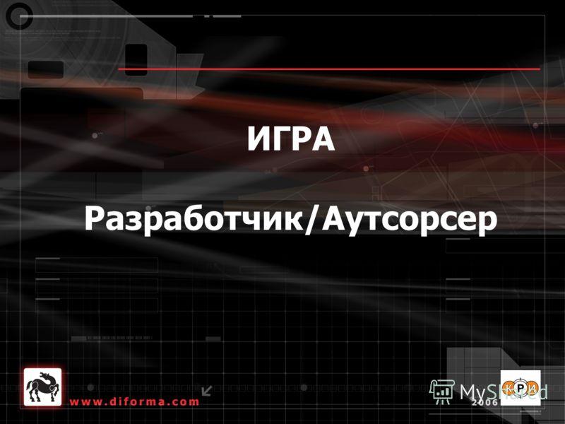 ИГРА Разработчик/Аутсорсер