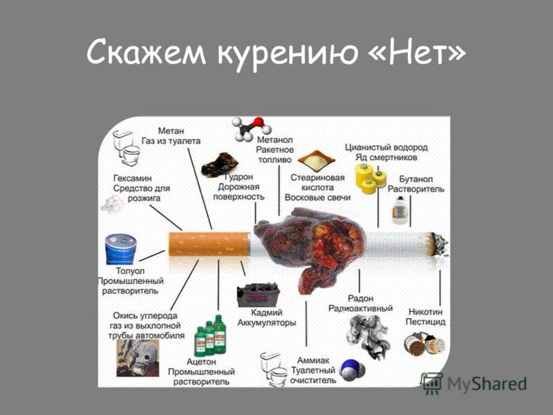 Скажем курению «Нет»