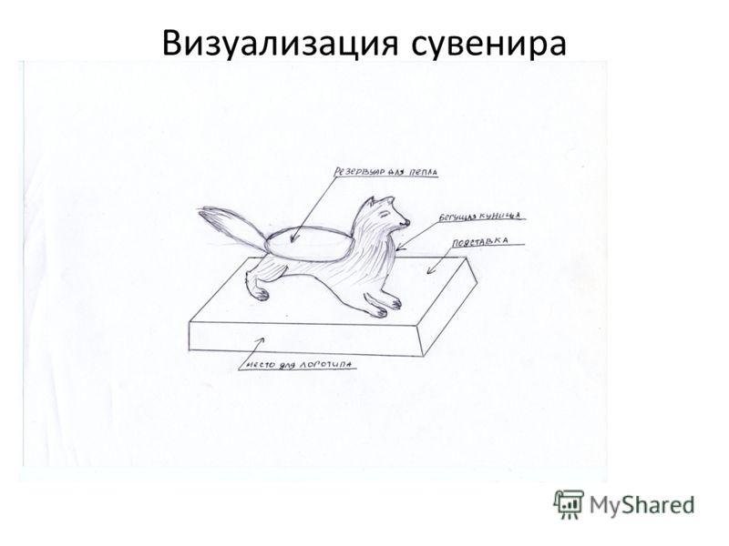 Визуализация сувенира