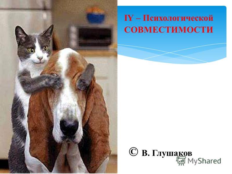 IY – Психологической СОВМЕСТИМОСТИ © В. Глушаков