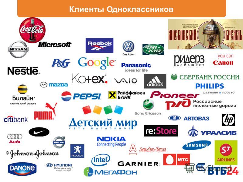Клиенты Одноклассников