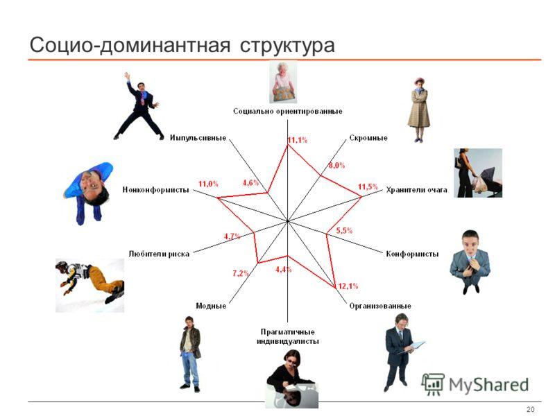 20 Социо-доминантная структура