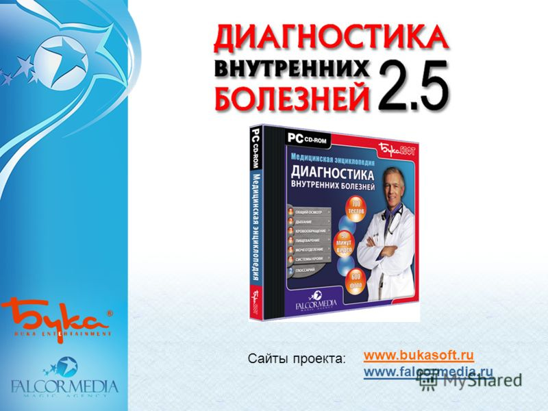 Сайты проекта: www.bukasoft.ru www.falcormedia.ru