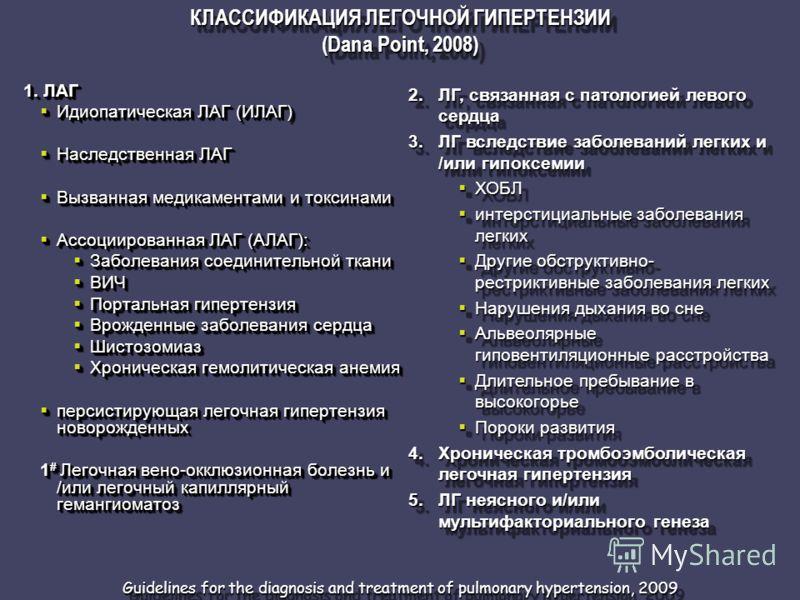 1. ЛАГ Идиопатическая ЛАГ (ИЛАГ) Идиопатическая ЛАГ (ИЛАГ) Наследственная ЛАГ Наследственная ЛАГ Вызванная медикаментами и токсинами Вызванная медикаментами и токсинами Ассоциированная ЛАГ (АЛАГ): Ассоциированная ЛАГ (АЛАГ): Заболевания соединительно
