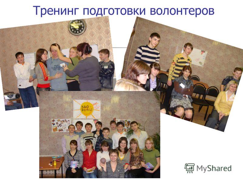 Тренинг подготовки волонтеров