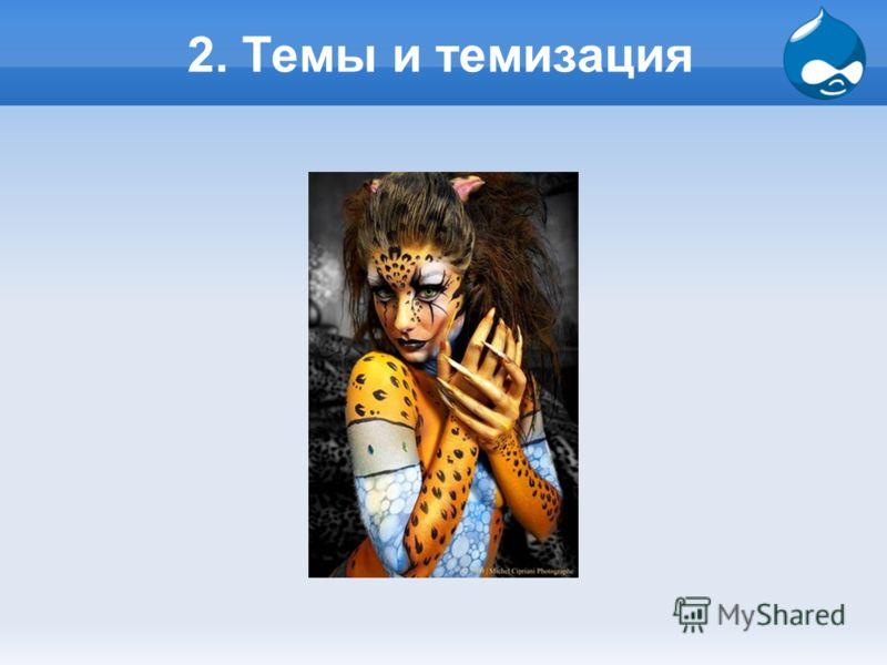 2. Темы и темизация