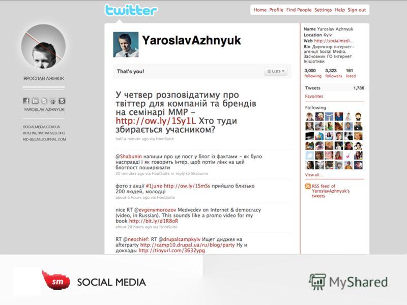 Хто я Оформити бекграунд для твіттеру, Вставити скріншот