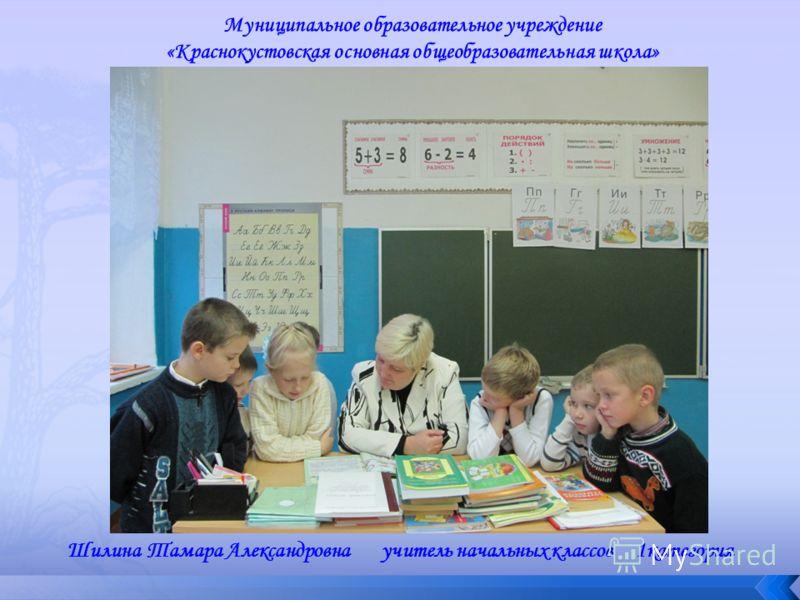 Шилина Тамара Александровна учитель начальных классов 1категория