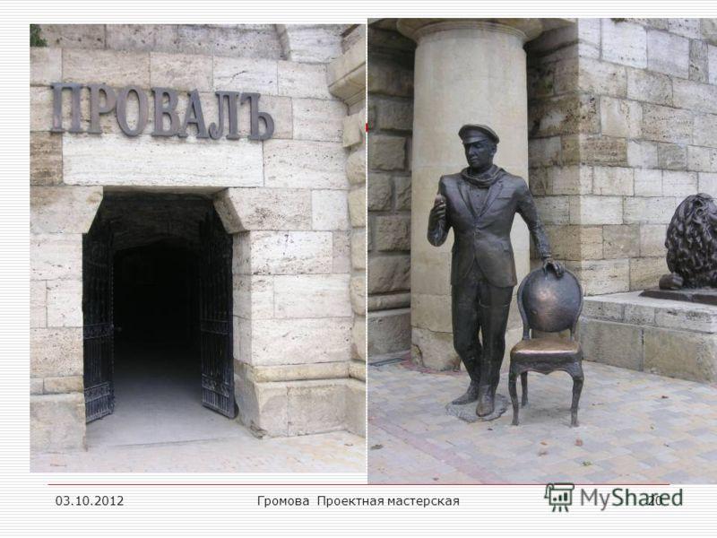 17.08.2012Громова Проектная мастерская20