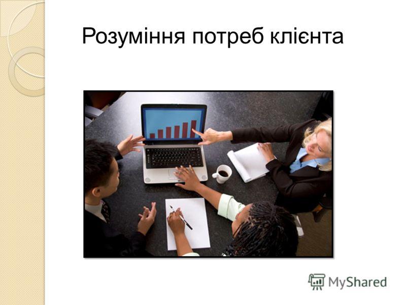 Розуміння потреб клієнта