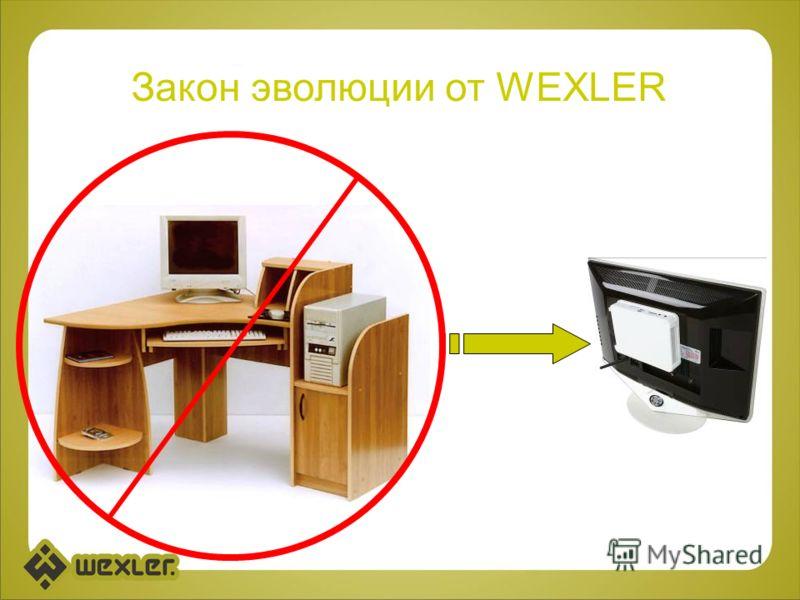 Закон эволюции от WEXLER