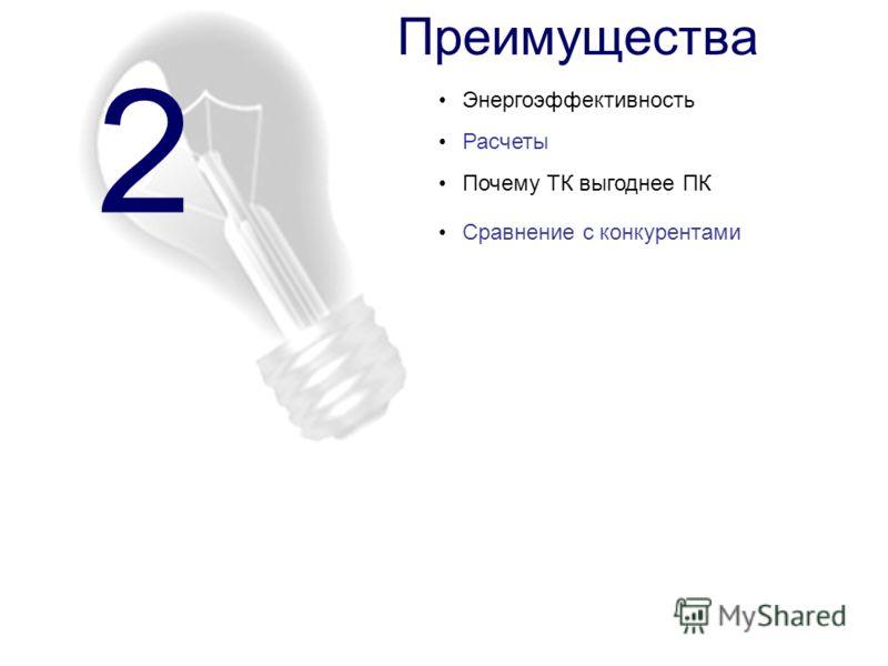 Преимущества Почему ТК выгоднее ПК 2 Энергоэффективность Расчеты Сравнение с конкурентами