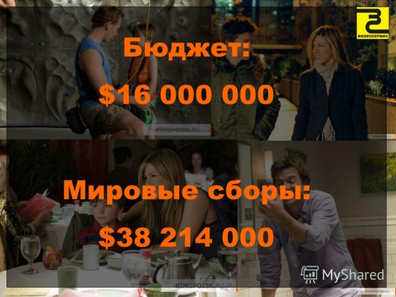 Бюджет: $16 000 000 Мировые сборы: $38 214 000