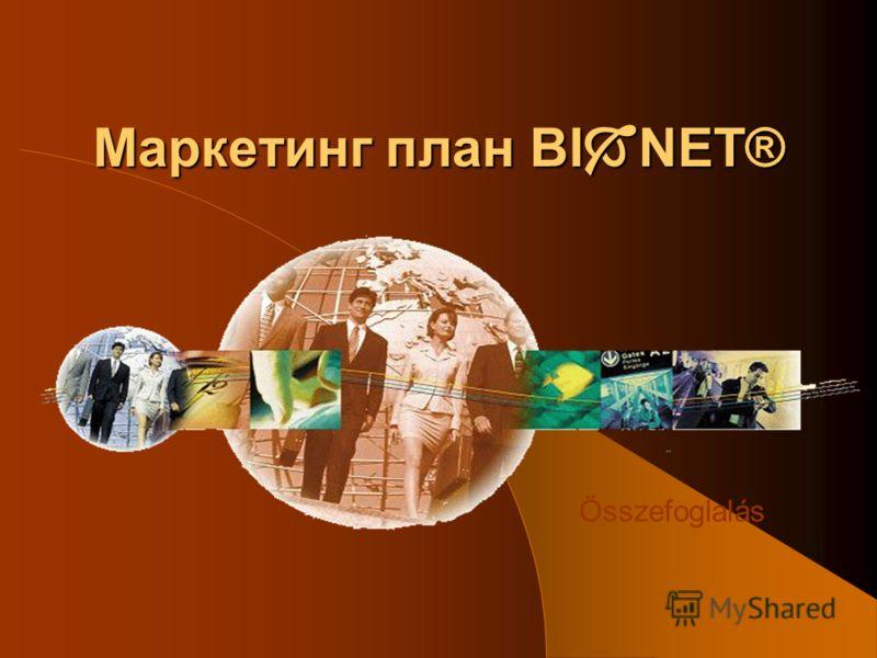 Маркетинг план BI NET® Összefoglalás