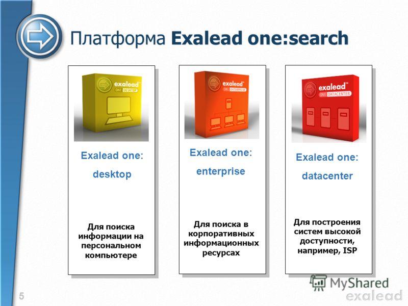4 С применением Exalead поиск заметно упрощается