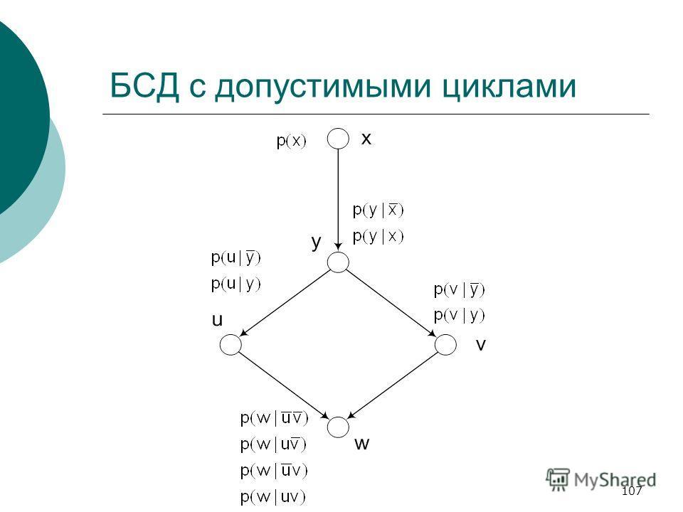 107 БСД с допустимыми циклами