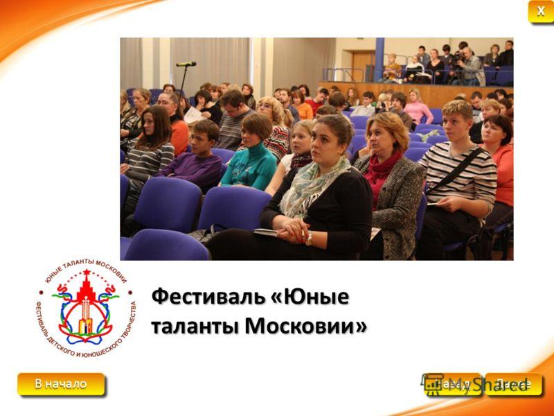 В начало В начало В начало В начало Далее Назад XXXX XXXX Фестиваль «Юные таланты Московии»