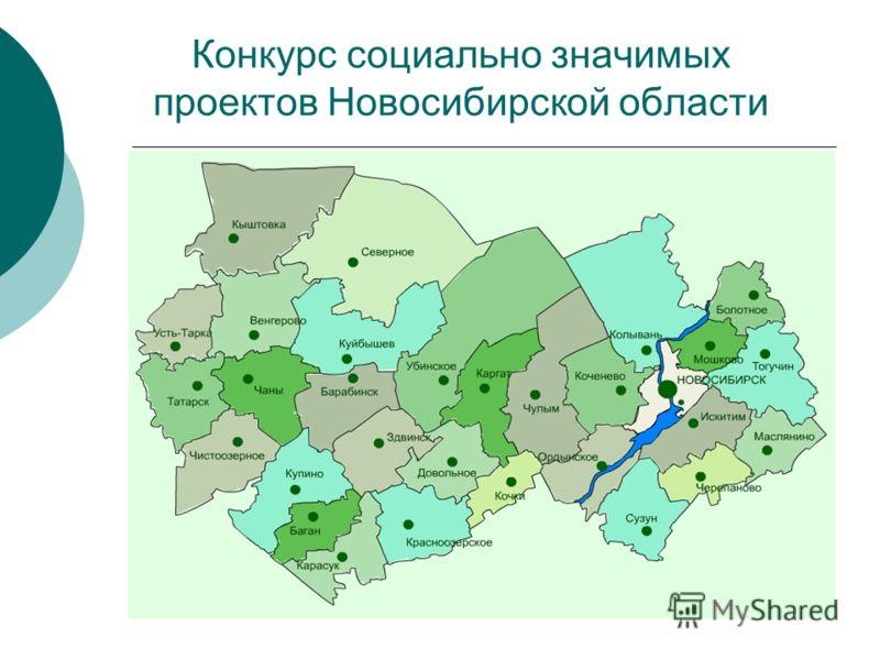 Конкурс социально значимых проектов Новосибирской области