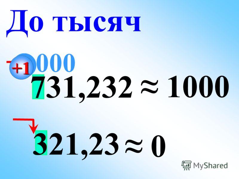 731,232 1000 До тысяч 000 321,23 0 +1+1