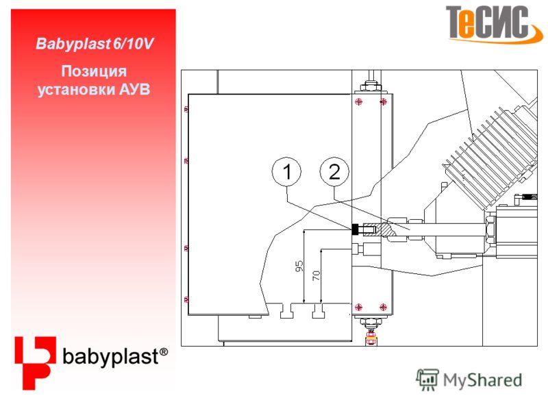 Babyplast 6/10V Установка прессформы 1 2 2 3