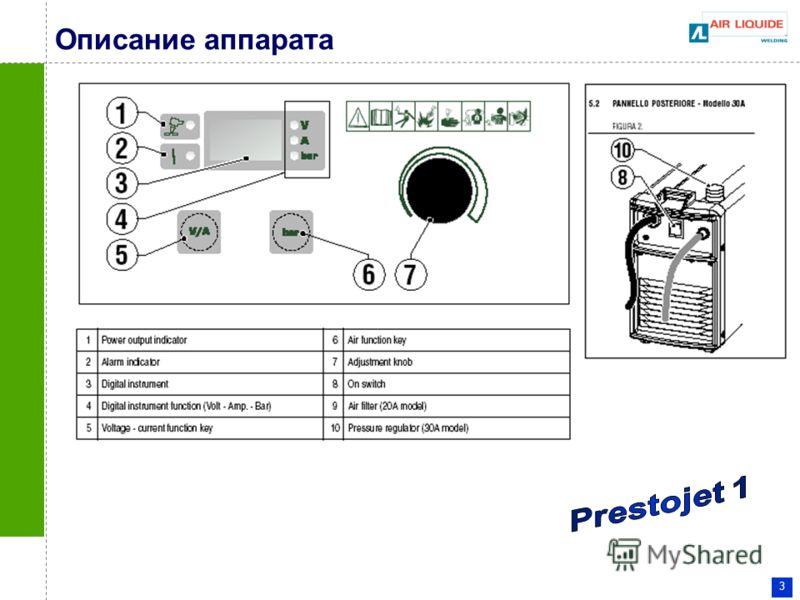3 Описание аппарата