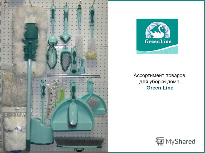 Ассортимент товаров для уборки дома – Green Line