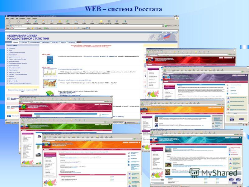 WEB – система Росстата