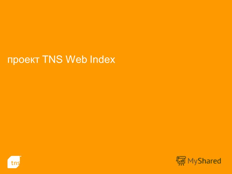 проект TNS Web Index
