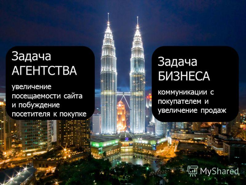 www.myrmex.ru 3 Задача АГЕНТСТВА увеличение посещаемости сайта и побуждение посетителя к покупке Задача БИЗНЕСА коммуникации c покупателем и увеличение продаж