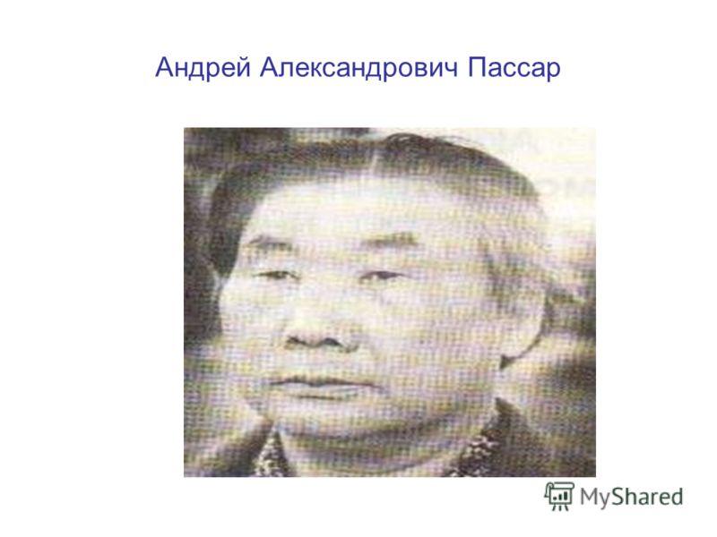 Андрей Александрович Пассар
