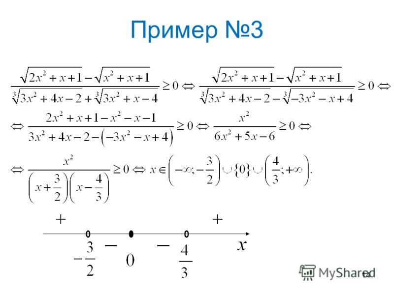 Пример 3 14