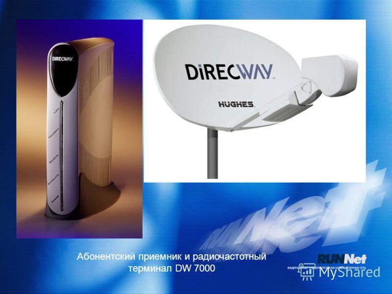 Абонентский приемник и радиочастотный терминал DW 7000