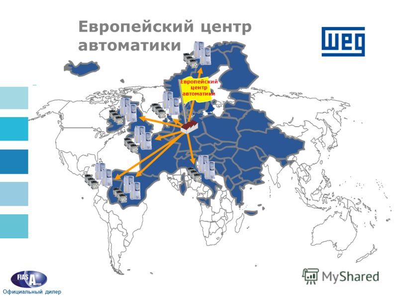 Европейский центр автоматики Официальный дилер