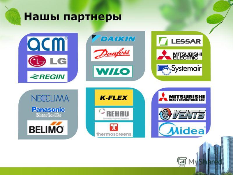Description of the contents Нашы партнеры
