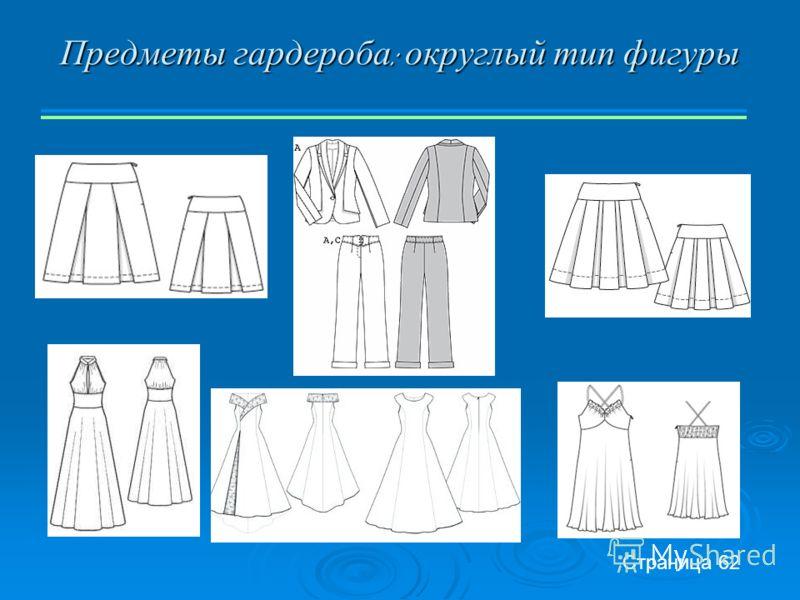 Предметы гардероба : округлый тип фигуры Страница 62