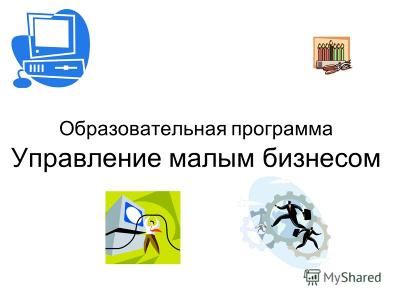 Образовательная программа Управление малым бизнесом