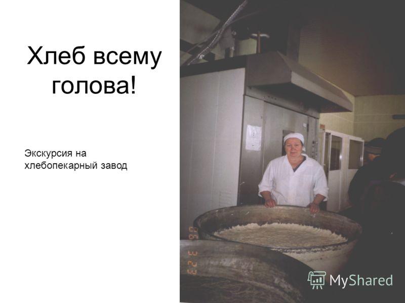 Хлеб всему голова! Экскурсия на хлебопекарный завод