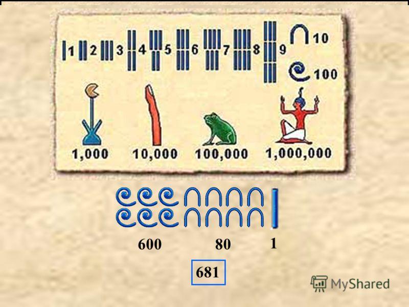 Египтяните са създали писменост, която се нарича йероглифика. Йероглифите са малки знаци, изобразяващи предмети.