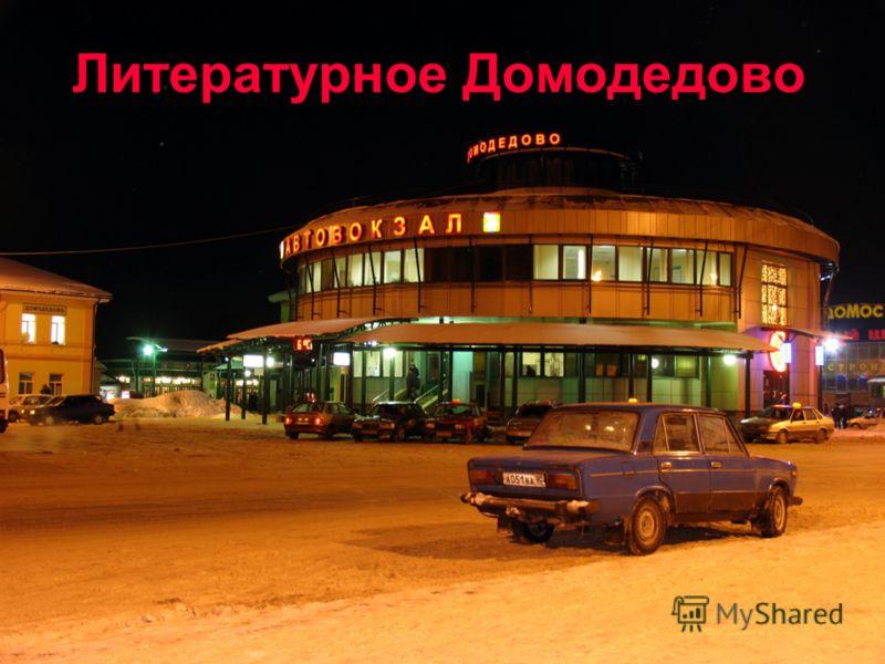 Литературное Домодедово
