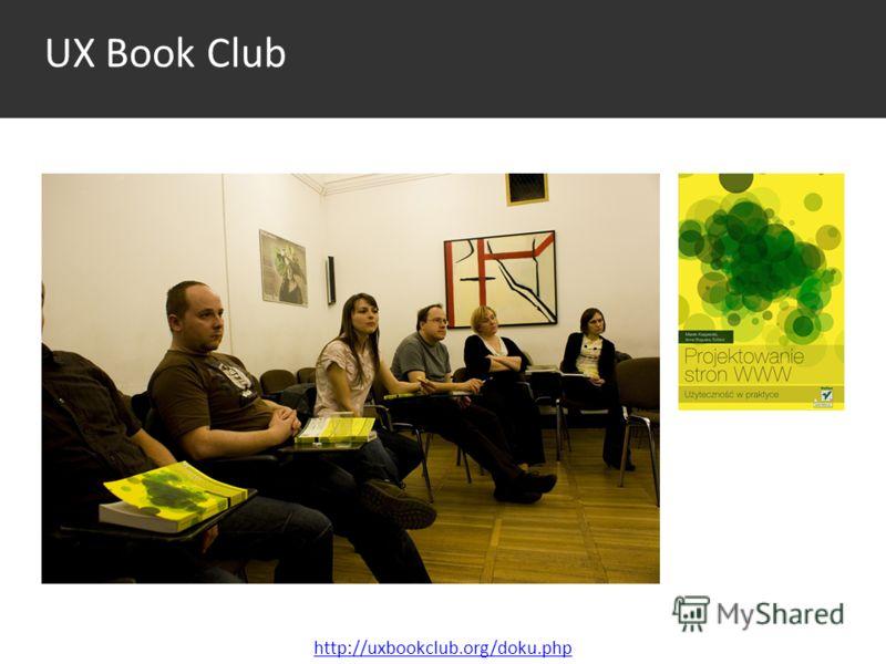 UX Book Club http://uxbookclub.org/doku.php