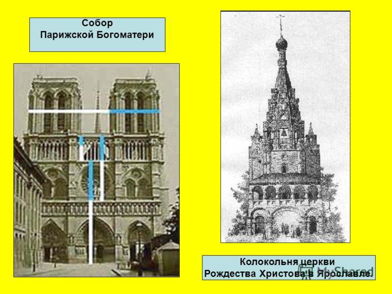 Золотое соотношение можно увидеть в пирамиде Хеопса, в православных храмах