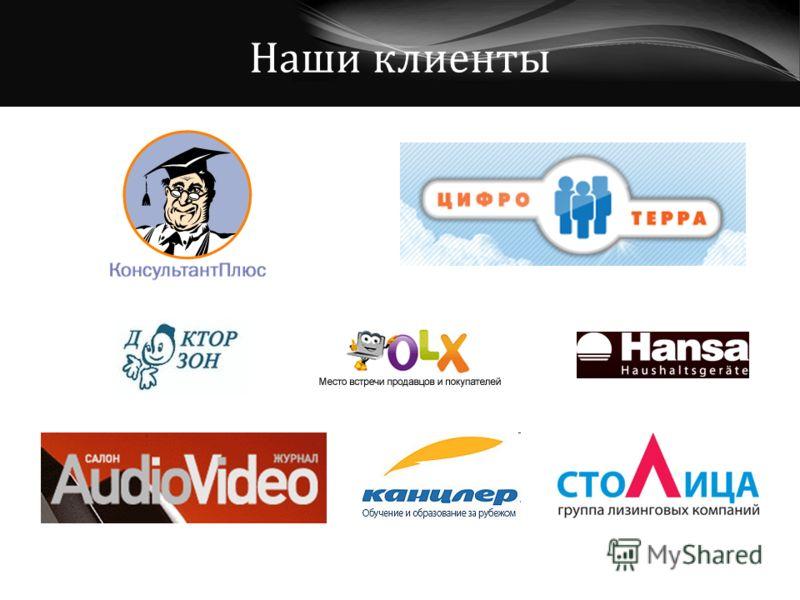 Наши клиенты