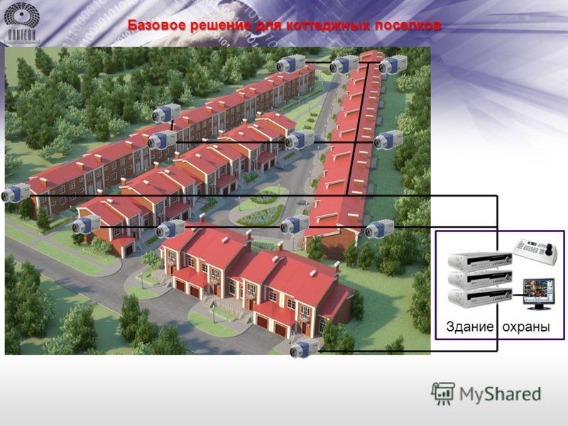 Здание охраны Базовое решение для коттеджных поселков