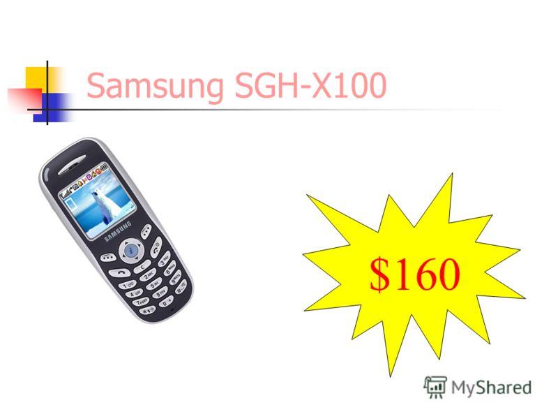 Samsung SGH-X100