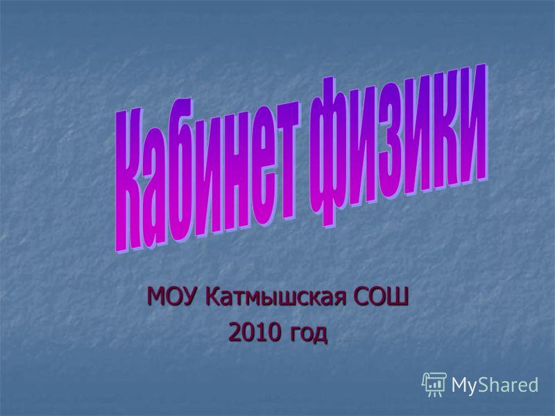 МОУ Катмышская СОШ 2010 год