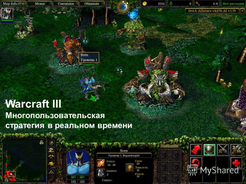 Warcraft III Многопользовательская стратегия в реальном времени