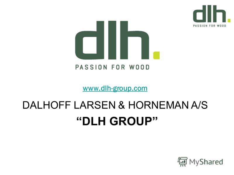 www.dlh-group.com DALHOFF LARSEN & HORNEMAN A/S DLH GROUP