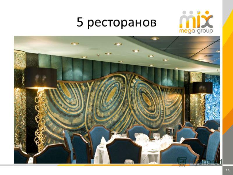 14 5 ресторанов